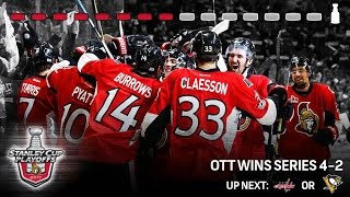 Ottawa Senators | Journey to the NHL Eastern Conference Finals