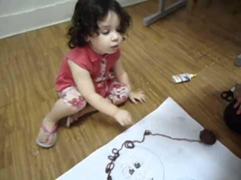 Maternal CTAM - Conhecendo o corpo humano (Profª Angelita e Profª Larissa)