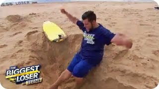 Die Surfbrett-Challenge (1) | The Biggest Loser - Teens 2014