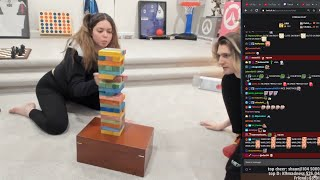 xQc and Adept play Jenga December 4th, 2020