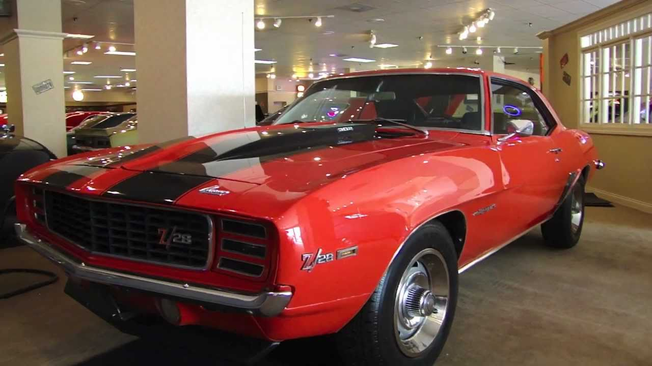 1969 camaro z28 rs for sale hugger orange youtube. Black Bedroom Furniture Sets. Home Design Ideas