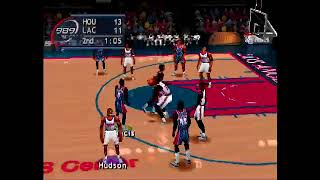 NBA Shootout 2000 Rockets at Clippers