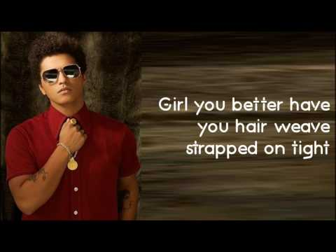 Bruno Mars - Chunky (Lyrics)