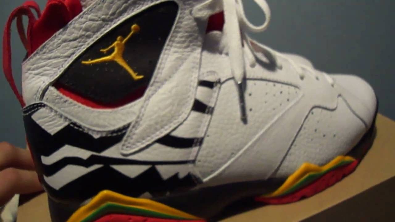 bd3b86110038f1 Nike Air Jordan 7 Retro Premio VII BIN 23 - YouTube