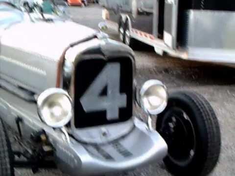 1929 Ford Model A Silver Bullet Racer Slvr