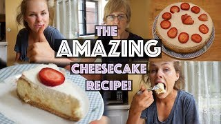 THE AMAZING CHEESECAKE!!