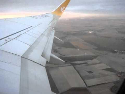 Abflug Leipzig - Antalya Urlaub Türkei 2011 bis über die Wolken.MPG