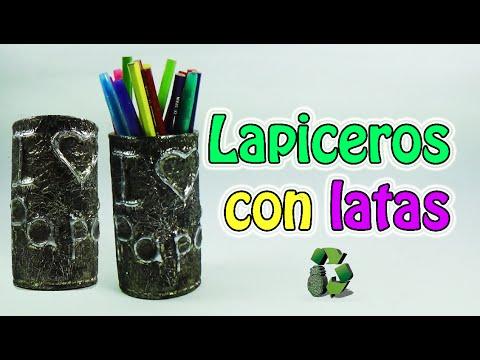 190 manualidades para regalar lapiceros con latas - Lapiceros reciclados manualidades ...