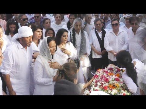 Vinod Khanna की अंतिम यात्रा - उमड़ा जन सागर - देखिये विडियो
