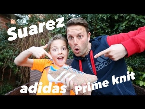 What are Luis Suarez New boot? - adidas Primeknit boots Unboxed
