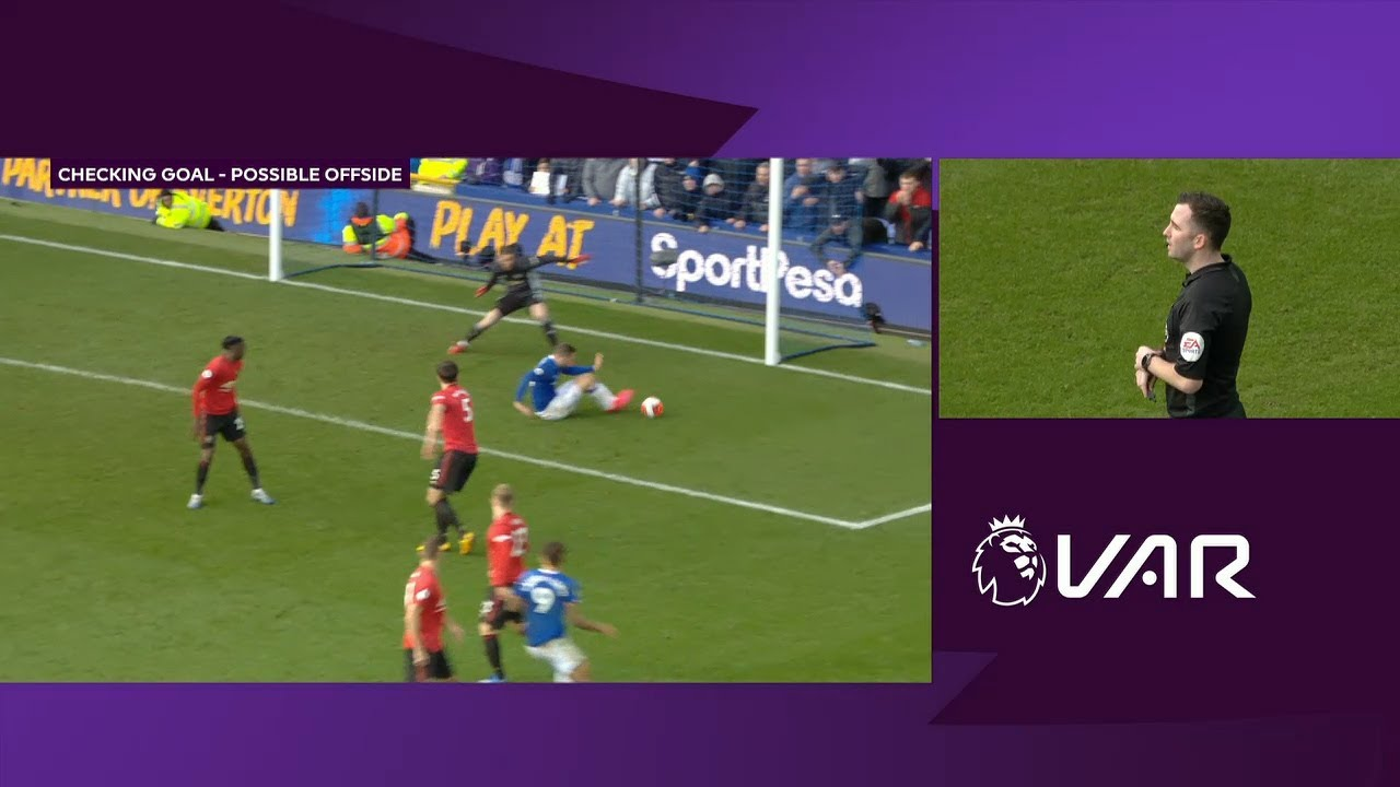 Everton vs. Liverpool score: Controversial VAR offside call cancels ...
