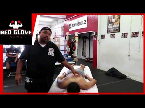 Meet Sports Massage Therapist: Eduardo Padilla.