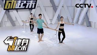 《健身动起来》 20190624 芭蕾塑形-纤细美腿| CCTV体育