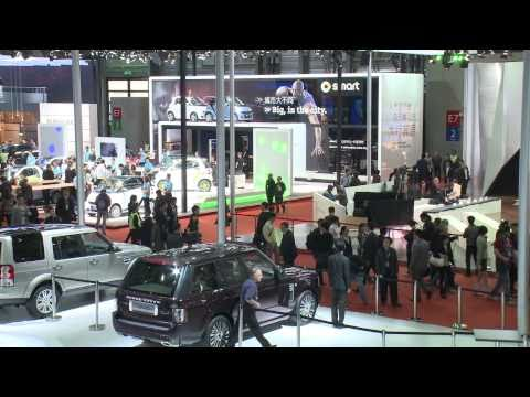 Range Rover Autobiography Ultimate at the Shanghai Motor Show