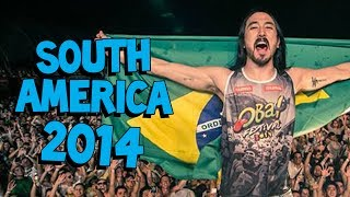 SOUTH AMERICA 2014 - On the Road w/ Steve Aoki #109