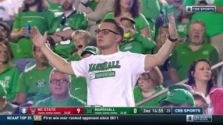 2018.09.22 NC State Wolfpack at Marshall Thundering Herd Football