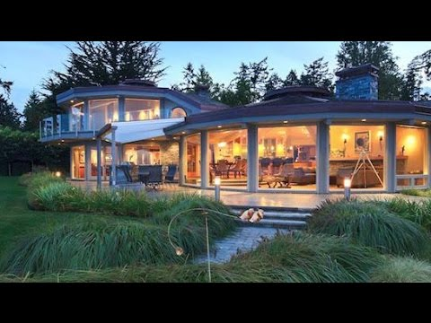 Oceanfront Saanich Home, $4,400,000 Waterfront Estate, Million Dollar Mansions
