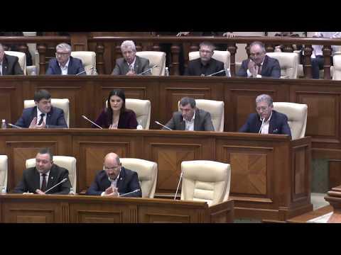 Şedinţa Parlamentului Republicii Moldova 05.10.2017