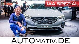 Opel Insignia GSi (2017) im Review - erste Sitzprobe | IAA 2017