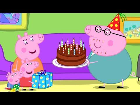 Peppa Pig en Español   EL CUMPLEAÑOS DE PAPÁ PIG   Pepa la cerdita