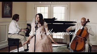 Gissela I This Is The Moment- Piano, Cello & Voice I Christian Music
