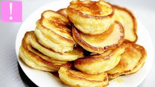 🔴 Пышные Оладьи На Кефире (Оладушки) | Russian pancakes recipe | Как приготовить оладьи на кефире