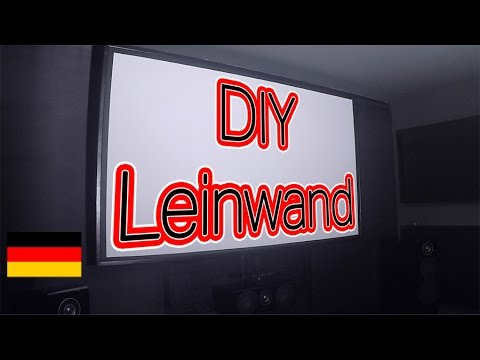 Rahmenleinwand Selber Bauen Diy Deutsch German Youtube
