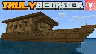Truly Bedrock SMP: Episode 10 - Making the Escape Ship