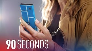 Google's Project Ara could arrive next year for $50: 90 Seconds on The Verge