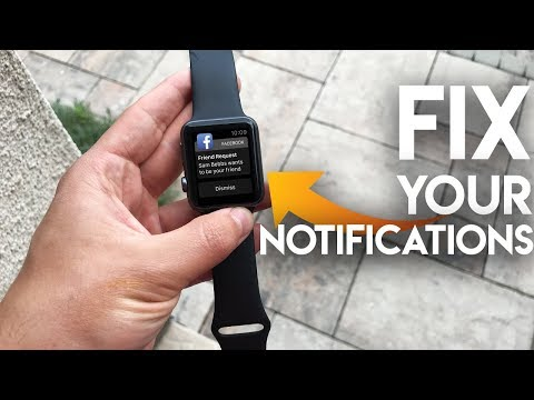 How To Fix Apple Watch Notifications