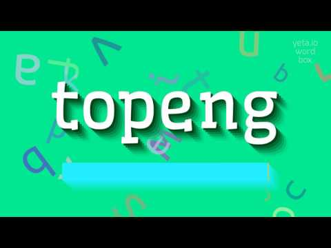 """How to say """"topeng""""! (High Quality Voices)"""