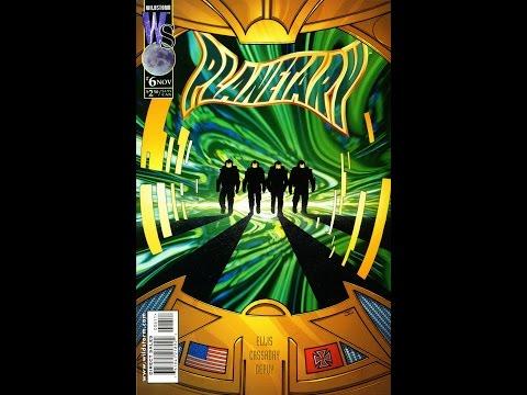 """Warren Ellis Planetary # 6 Comic Book Review """"It's A Strange World"""""""
