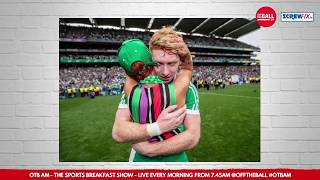 Cian Lynch reacts to incredible All Ireland photo with his mother!