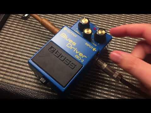 Boss Blues Driver BD2 Pedal Demo