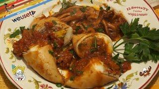 43 - Totani ripieni alla livornese..da sbranà a più riprese (secondo piatto di pesce sano e gustoso)