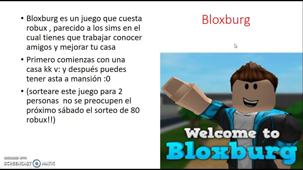 Tops 5 Mejor Juegos De Roblox Parte 2 Jorge0710 Youtube