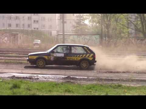 3 Rajd Namysłowski 2017 - Krzysztof  Zawora / Marcin Jakubowski - VW GOLF II GTI