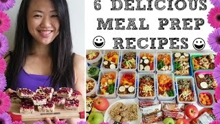 HEALTHY WEEKLY FOOD PREP - 15 MEALS AND SNACKS ? DELICIOUS CLEAN MEAL PREP IDEAS ?