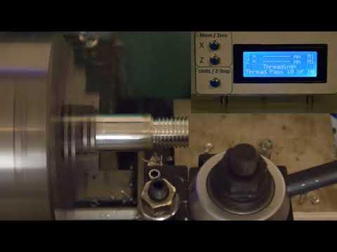 CNC Lathe Threading with Arduino (2 of 4)