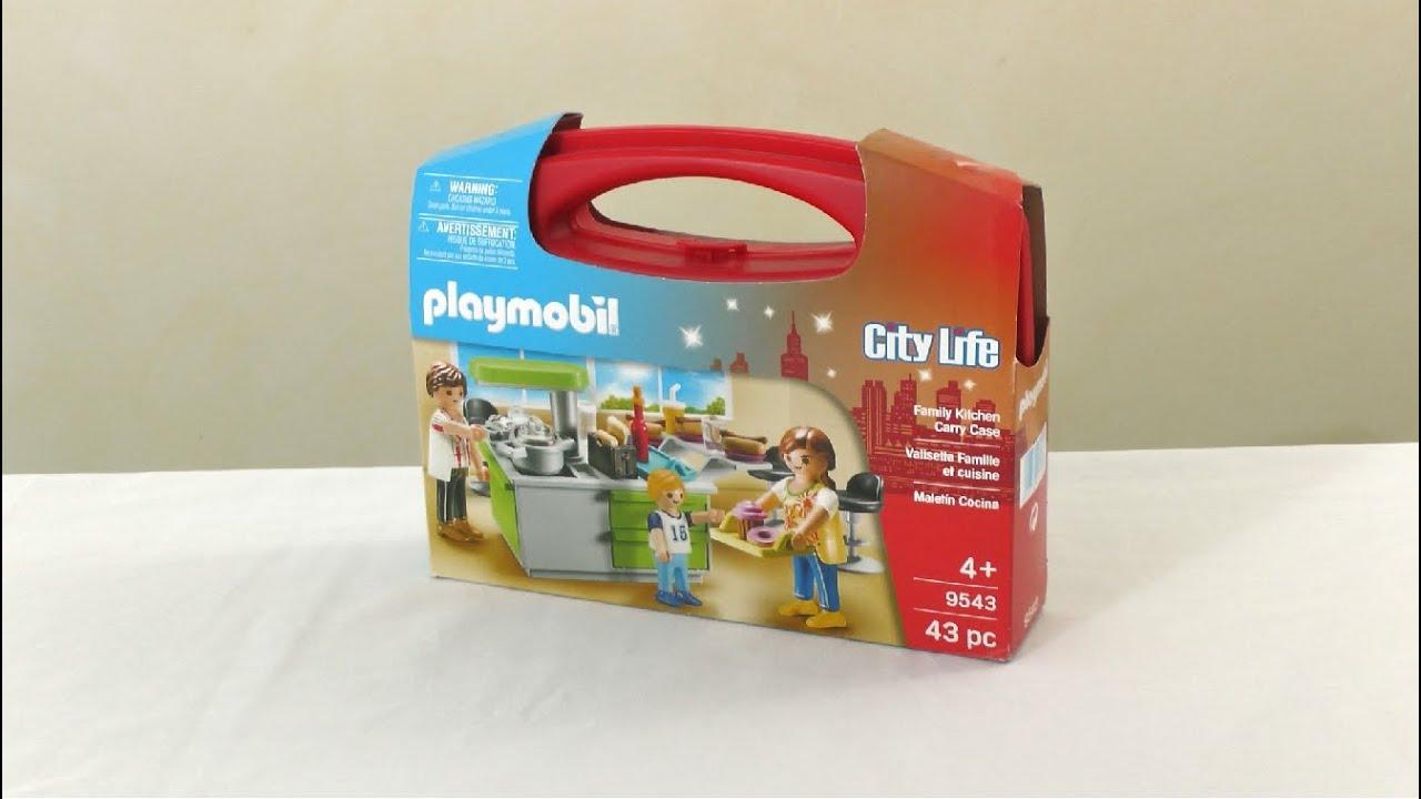 unboxing playmobil fr la cuisine de la maison moderne 2018 9543