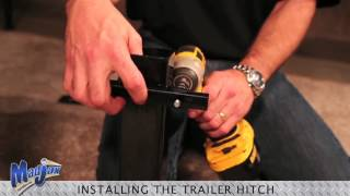 Trailer Hitch And Safety Grab Bar | How To Install Video | Madjax® Golf Cart Accessories