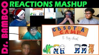 TheOdd1sOut: Adventures in Cub Scouts REACTIONS MASHUP