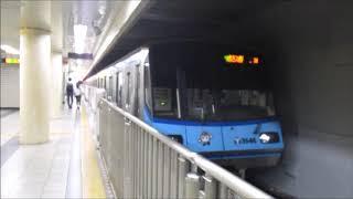 横浜市営地下鉄3000S形3541F 普通 あざみ野ゆき 関内発車