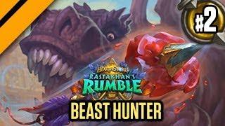 Hearthstone Rastakhan's Rumble - Beast Hunter P2