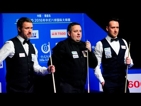 2016 World Chinese 8 Ball Masters Exhibition match - Team China vs Team GB
