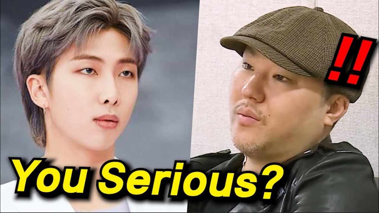 How RM Reacted to Brave Brothers who Dissed Bang PD?
