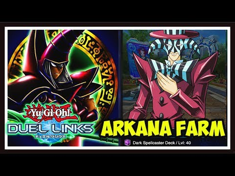 Yu-Gi-Oh! Duel Links: FARMING LEVEL 40 ARKANA! 7000-8000 POINTS CONSISTENTLY!