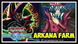 Yu-Gi-Oh! Duel Links: FARMING LEVEL 40 ARKANA! 7000-8000 POINTS CONSISTENTLY!