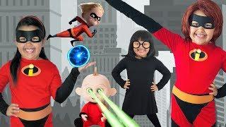 Disney Pixar INCREDIBLES 2 Halloween Costumes and Toys