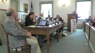 Rappahannock County, Va., Board of Supervisors meeting on March 4, 2019
